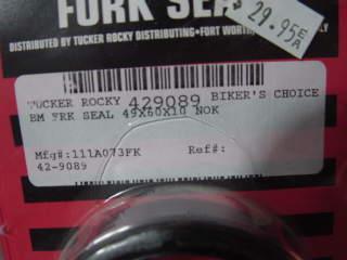 Suzuki Fork Seals 49x60x10 NOK/BM Brand